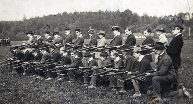 Erste Ausbildung Freiwilliger OÖ Schützen